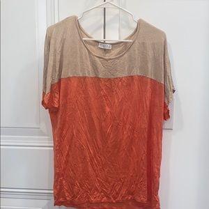 JOSEPH A — color block t shirt
